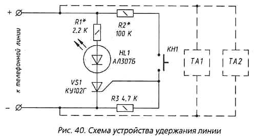 Блокираторы параллельных телефонов и другие приставки.