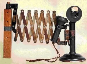 Американский телефонный аппарат производства «Вестерн Электрик»