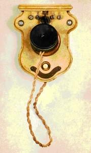 Французский телефонный аппарат «Бальё»