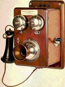 Настенный телефон В. Вильгельма