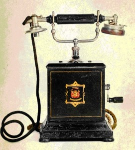 Настольный телефон фирмы Telefon-Fabriker (Дания)
