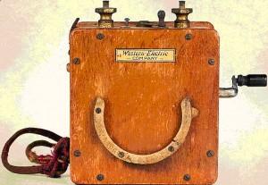 Переносной монтерский телефонный аппарат