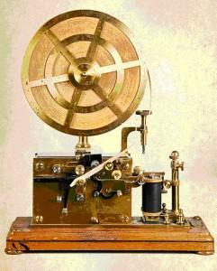 Швейцарский телеграфный аппарат компании L. M. Ericsson