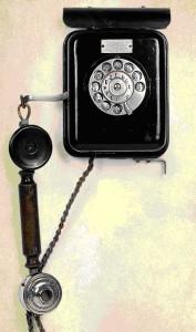 Советский телефон производства «Красная Заря»