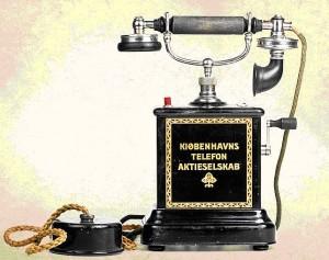 Телефонный аппарат из Дании, фирма KTAS