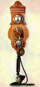 Телефонный аппарат Швейцарской фирмы L. M. Ericsson